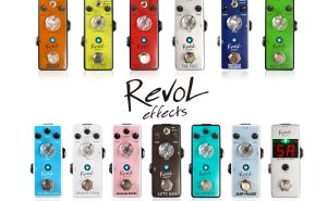 【RevoL effects一覧・動画あり】3000円代で買えるエフェクターが安くてコンパクトで音も良さそう!