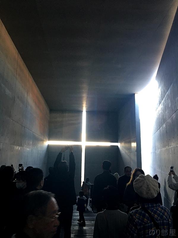 安藤忠男展 光の教会 写真