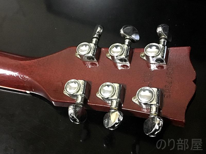 Gibson Lespaulにマグネットチューナーを貼り付ける 【問題解決】クリップチューナーのつけっぱなしのダサさを解決!!今すぐ簡単に出来る簡単な方法!