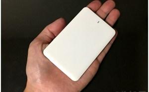 脅威的な小ささ【徹底解析】薄い(6mm)・軽い(62g)のモバイルバッテリー「ALPHA MINI」が安くて小さくて超おすすめ! iPhone・Android対応【ケーブル一体型】