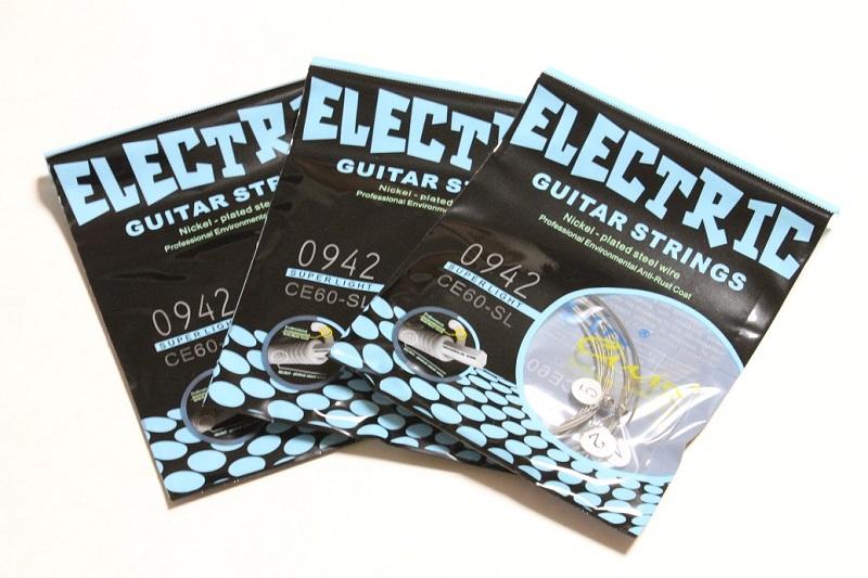 【245円】Civin CE60-SL エレキギター弦 が安い!【199円~】安いエレキギター弦特集! 値段を気にせず常に新しい弦で練習できる弦!