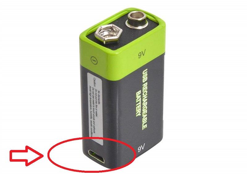 充電器不要!USB充電できる乾電池 サンコーレアモノショップ (9V形)【徹底比較】「充電式 9v電池」特集!コスパがよくて安い!ギター・ベースのエフェクターにオススメ!四角い電池【容量・価格】