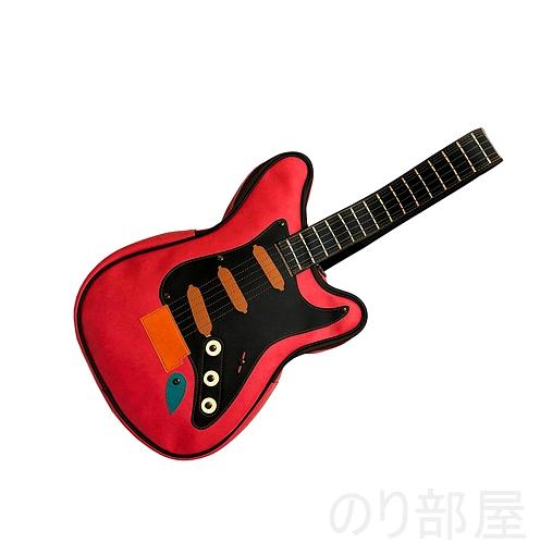 【ダサかわいい!】ギター型 ショルダーバッグが良過ぎてヤバイ!ギター好きにオススメのギターバッグです!