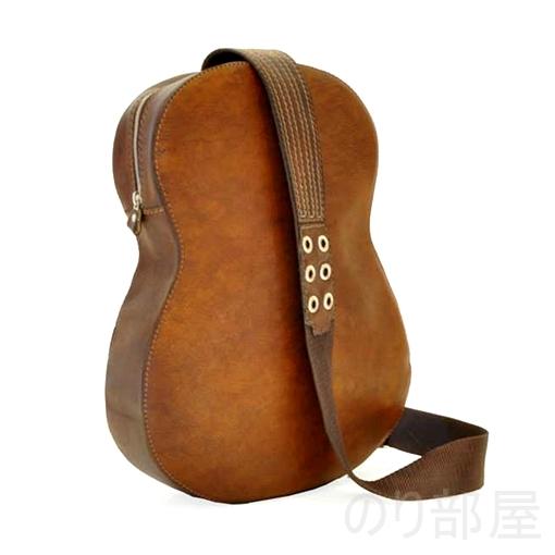 カッコイイ【イタリア製】 プラテージ 本革 ギター型バックパック 全6色 プラテシ Pratesi イタリアンレザー 【ダサかわいい!】ギター型 ショルダーバッグが良過ぎてヤバイ!ギター好きにオススメのギターバッグです!