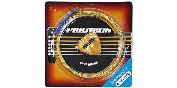 PLAYTECH ( プレイテック ) / AGS-1150 アコースティックギター弦【248円】PLAYTECH AGS アコースティックギター弦 が安い!【111円~】安いアコースティックギター弦特集! 値段を気にせず常に新しい弦で練習できるおすすめ格安・激安アコギ弦!レビュー・感想【コーティング弦】