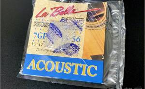 真空パックをしたLa Bella 7GPM【真空パック】La Bella 7GPM 890円(税込) 13-56 ラベラ Phosphor Bronze Medium アコースティックギター弦【弦を錆びさせない方法】
