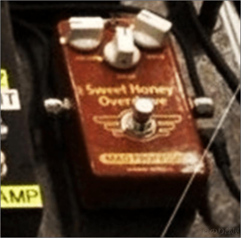 MAD PROFESSOR Sweet Honey Overdrive 本人使用エフェクターのツマミ・ノブの位置 【徹底紹介】野田洋次郎(RADWIMPS)のエフェクターボード・機材を解析!ツマミ・ノブの位置も分かる!ギターを支える足元の機材の数々を紹介! #野田洋次郎 #RADWIMPS #ギター #エフェクター【金額一覧】