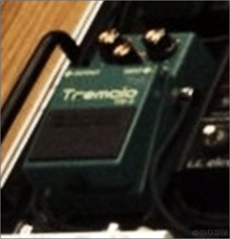 BOSS TR-2 本人使用エフェクターのツマミ・ノブの位置 【徹底紹介】野田洋次郎(RADWIMPS)のエフェクターボード・機材を解析!ツマミ・ノブの位置も分かる!ギターを支える足元の機材の数々を紹介! #野田洋次郎 #RADWIMPS #ギター #エフェクター【金額一覧】
