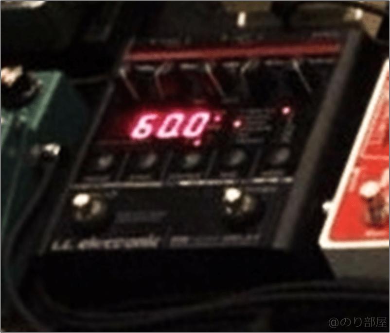 tc electronic NOVA DELAY ND-1 本人使用エフェクターのツマミ・ノブの位置 【徹底紹介】野田洋次郎(RADWIMPS)のエフェクターボード・機材を解析!ツマミ・ノブの位置も分かる!ギターを支える足元の機材の数々を紹介! #野田洋次郎 #RADWIMPS #ギター #エフェクター【金額一覧】