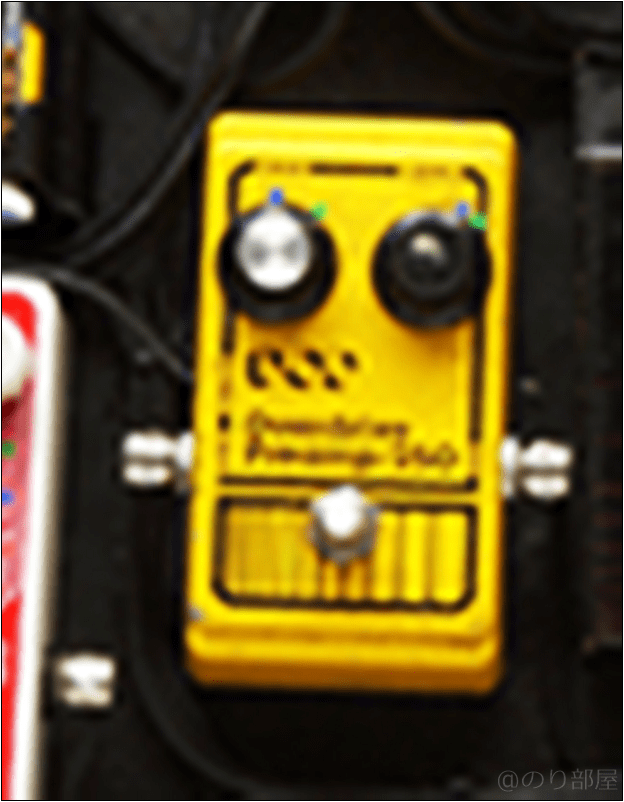 DOD Overdrive Preamp 250 本人使用エフェクターのツマミ・ノブの位置 【徹底紹介】野田洋次郎(RADWIMPS)のエフェクターボード・機材を解析!ツマミ・ノブの位置も分かる!ギターを支える足元の機材の数々を紹介! #野田洋次郎 #RADWIMPS #ギター #エフェクター【金額一覧】