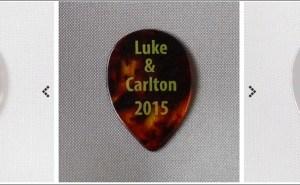 【スティーヴ・ルカサー & ラリー・カールトン】TOTO STEVE LUKATHER & LARRY CARLTON ジャパン・ツアー ギターピック スティーブルカサー本人使用の本物のオリジナルピック スティーブルカサーのピックと同タイプのピック特集。TOTO Steve Lukather愛用の小型のマンドリンピックを紹介!