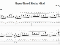 【TAB】絶対弾けるGreen-Tinted Sixties Mind Intro - MR.BIG(Paul Gilbert) の練習方法。ポールギルバートのタッピングイントロを覚えるのにオススメ!
