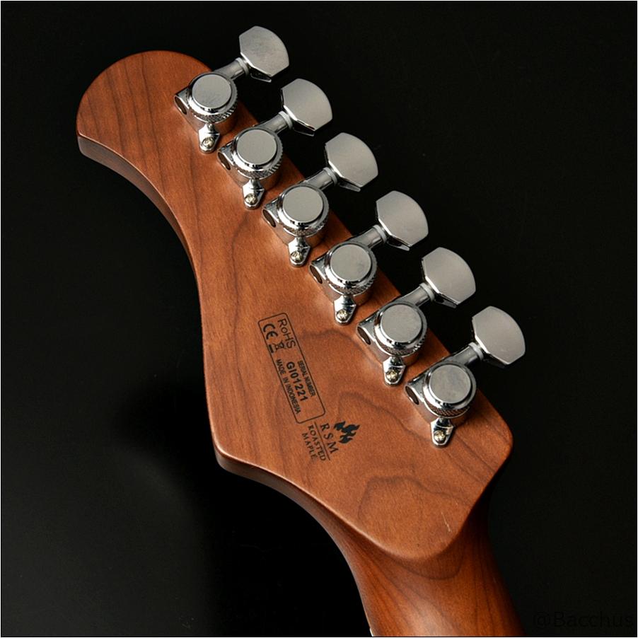 TACTICS24-FM/RSMはカッコよくて、守備範囲が広くてなんでもできるギター! Bacchusから「24f・2ハム仕様」「22f・P90仕様」のローステッド&ステンレスフレットのギターが登場!安くてハイクオリティ!