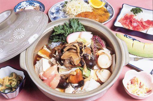 あったか温泉宿 美鈴荘 夕食1例