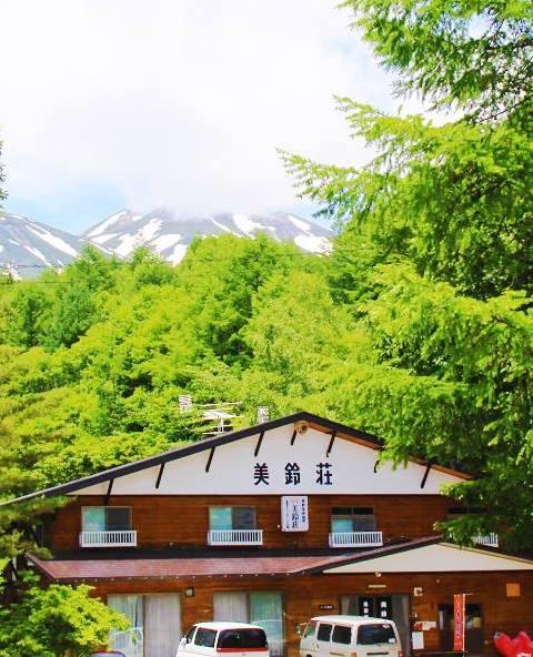 あったか温泉宿 美鈴荘 外観夏
