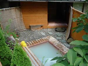 旅館こだまの露天風呂