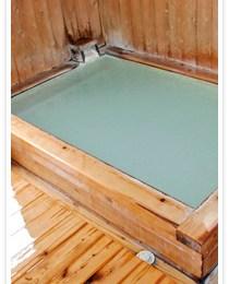 温泉民宿ほしの浴室