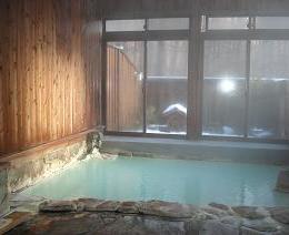 旅館みたけ荘の浴室