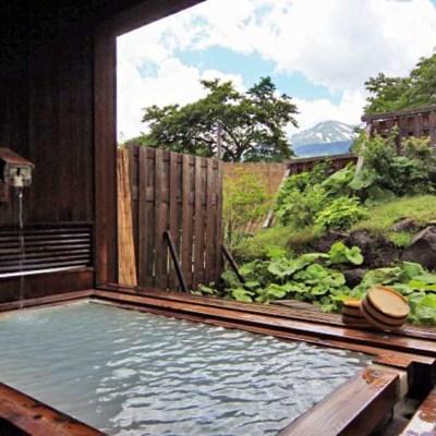 旅館仙山乗鞍の露天風呂