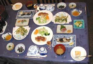 ガストホフ千石の料理の一例