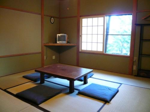 ペンションフルハウスの客室