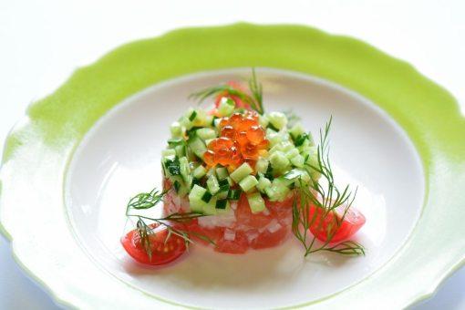 温泉宿福寿荘 夕食1例