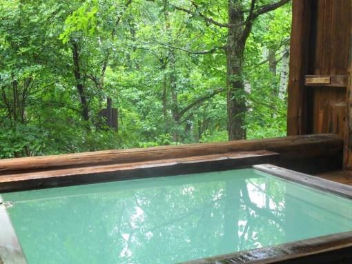 ピーポロ乗鞍 夏の露天風呂