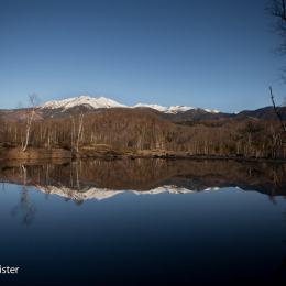 一の瀬 まいめの池と乗鞍岳