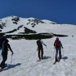 春山 スノーシューやシールで登る