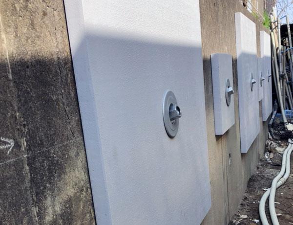 コンクリート壁面用グリーンパネル