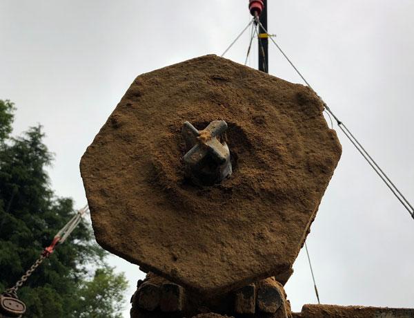 吊り式削孔機 粘土用ビット