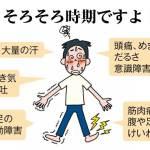 熱中症の時期