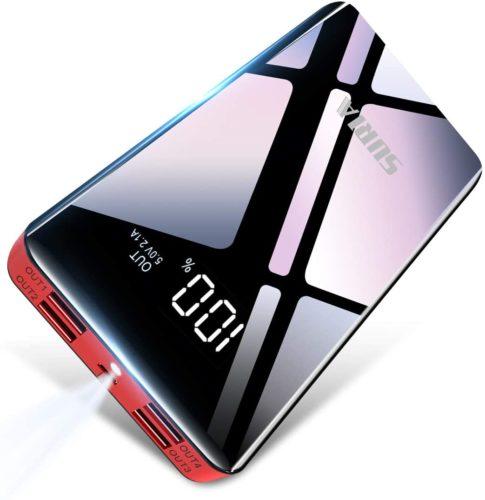 モバイルバッテリー 26800mAh 大容量