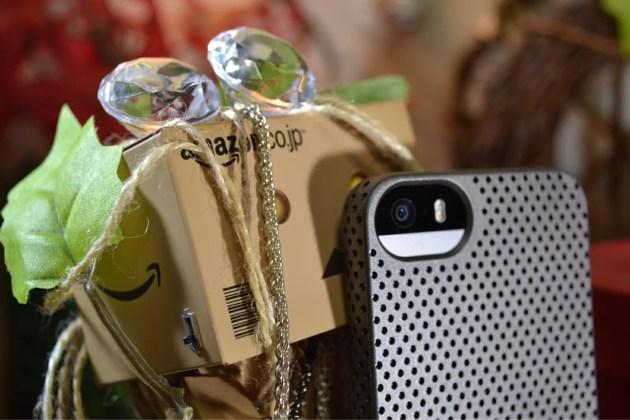 iPhone5s用のパンチングケース