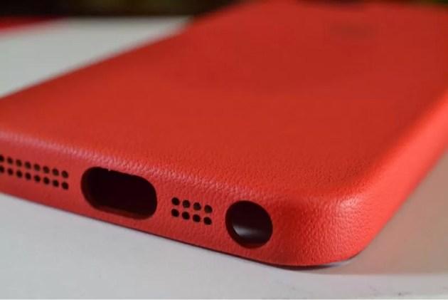 Apple純正iPhone5sケースレッド5