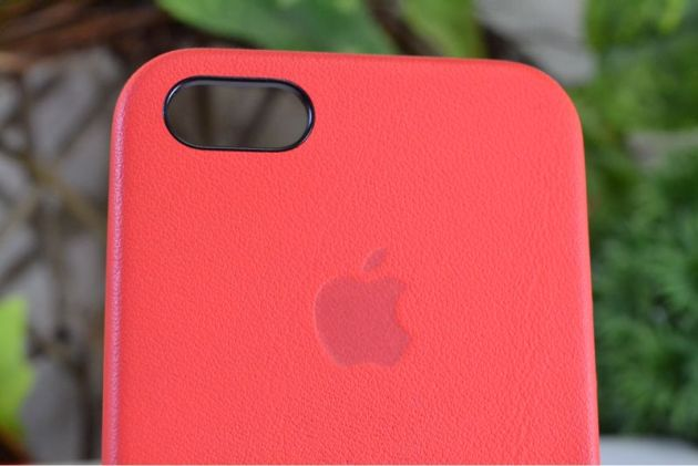 Apple純正iPhone5sケースレッド1