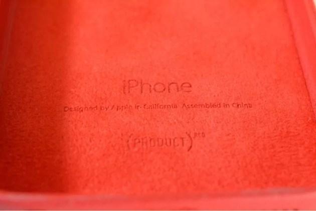 Apple純正iPhone5sケースProdactRED刻印