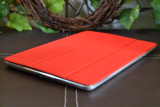 iPad mini Smart Cover - (PRODUCT) RED装着1