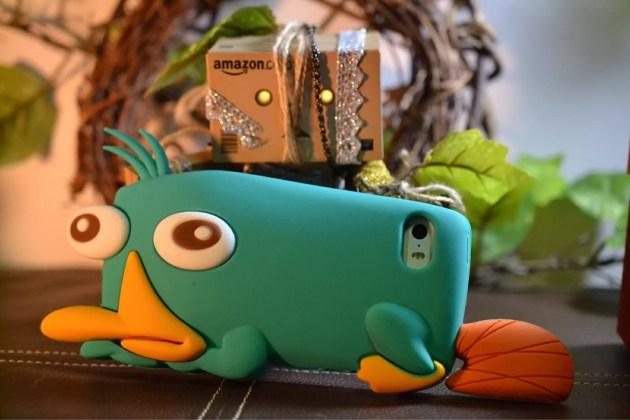 フィニアスとファーブのペリーiPhone5sケース表紙