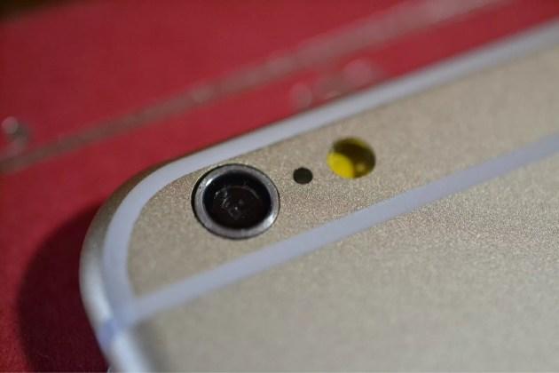 iPhone6カメラ部分