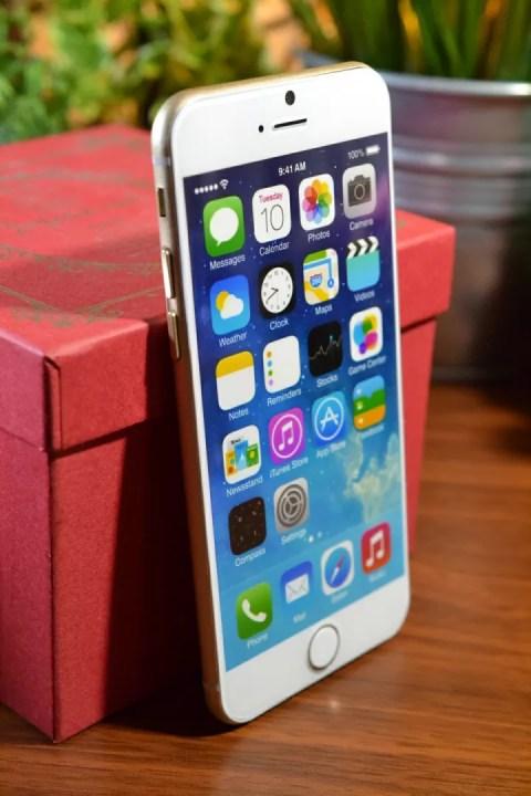 iPhone6のデザイン