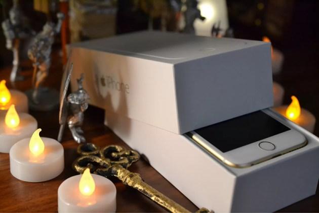 iPhone6の開封の儀式2