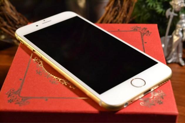iガラコを塗ったiPhone6