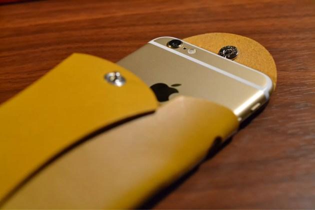 iPhone6を包み込む
