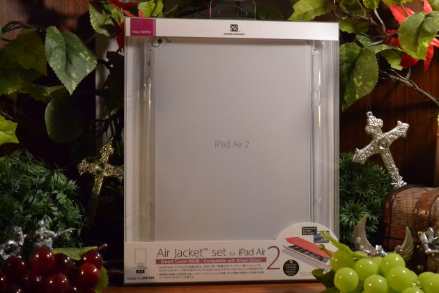 PowerSupport AirJacketSet iPad Air2 レビュー1