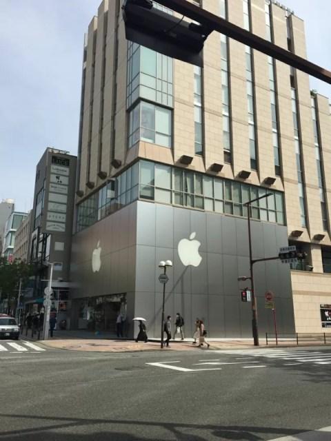 AppleStoreの様子1