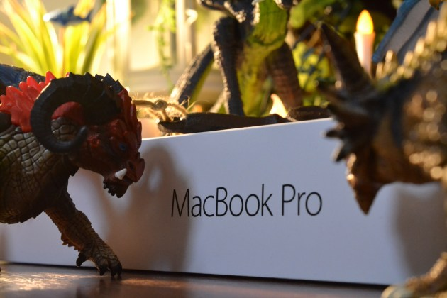MacBook Pro13インチ開封の儀式