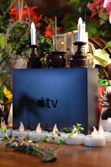 Apple TV 開封の祭壇