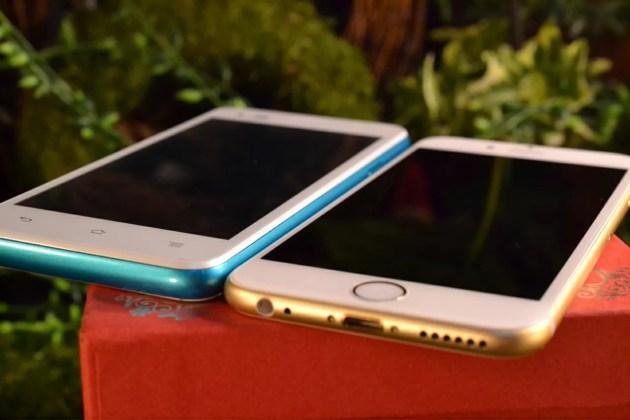 iPhone6sとの比較1
