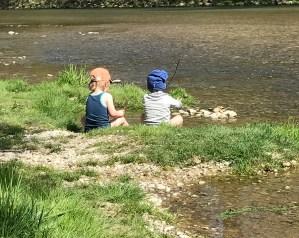Risky Week 15 – Kinder spielen an der Isar